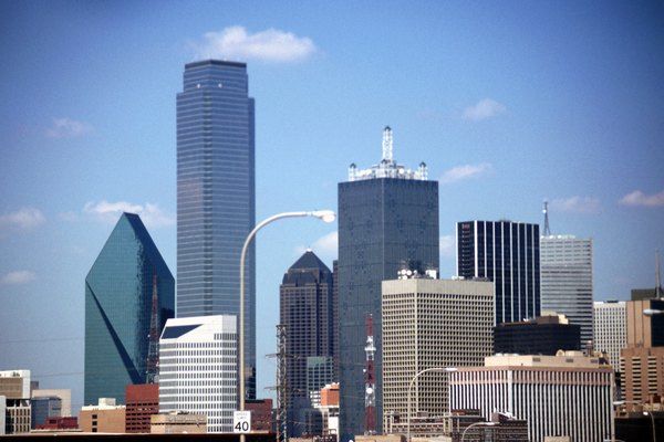 USA, Texas, Dallas, View of cityscape