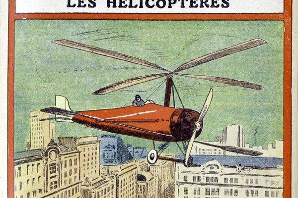 El girocóptero es una aeronave inuasual que la puedes construir en tu casa.