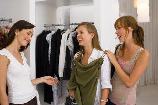 Los segmentos de mercado en el mercado de ropa al por menor suelen ser basados en el género.