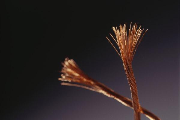Existen dos formas en las que alambre de cobre es estañado.