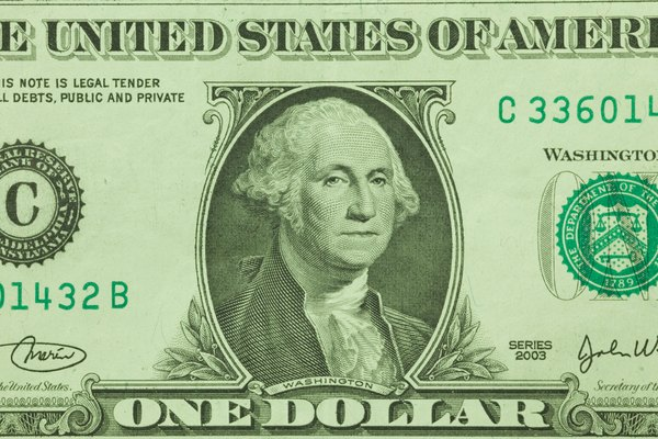 Aprende a detectar los billetes de 1 dólar falsos.