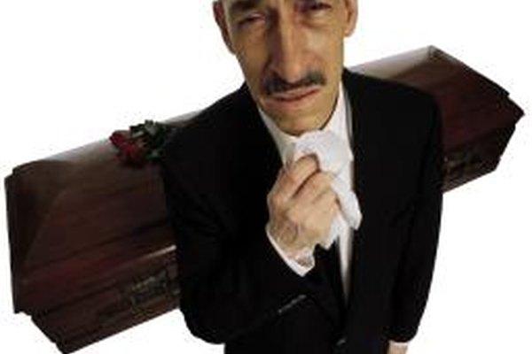 Dirigir funerales es uno de los trabajos más lucrativos, pero no resulta deseable.