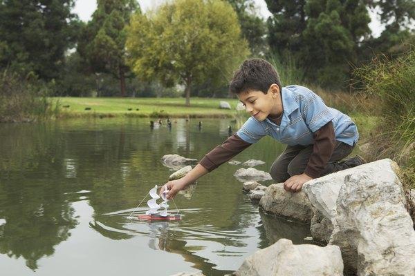 Los estanques proporcionan una belleza útil.