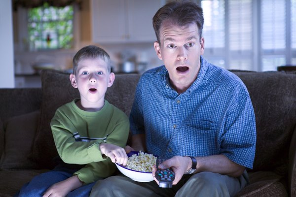 Studies show watching TV promotes overeating and other negative habits in youth.