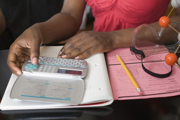 Es útil tener a mano una calculadora para hallar la densidad.