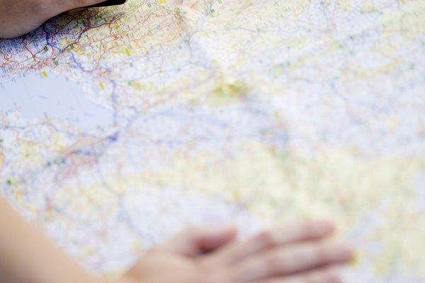 Una leyenda de un mapa te muestra lo que significa cada símbolo en tu mapa.