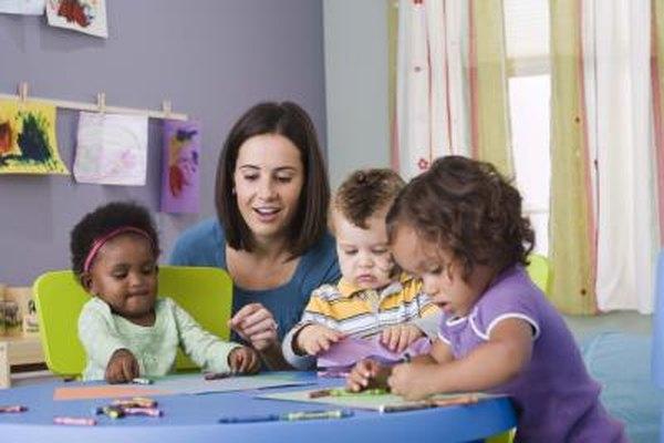 El amor por los niños puede ofrecerte una carrera remuneradora.
