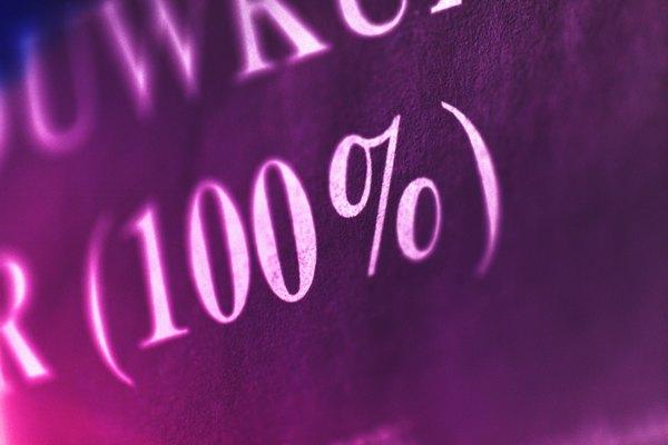 Los porcentajes de volumen te dicen cuánto de una solución en particular es la materia en cuestión.