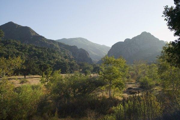 Scenic California landscape