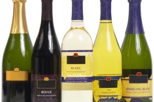 Variedad de bebidas alcohólicas.