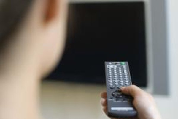 The Sanyo remote control enables multiple closed captioning settings.