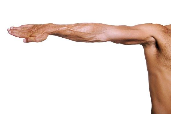 Muscular arm