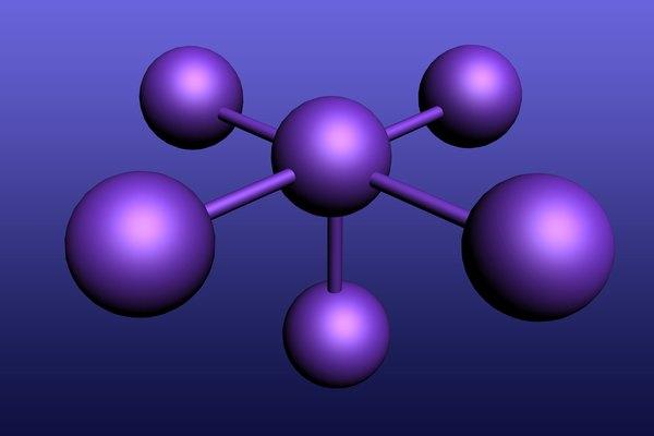 Cómo encontrar el número de átomos en un elemento.