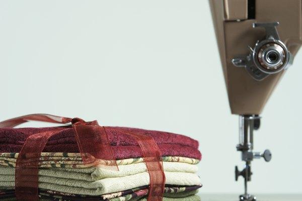Una máquina de coser.