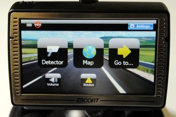GPS units can give an MPH reading. It will usually differ from the car's speedometer.