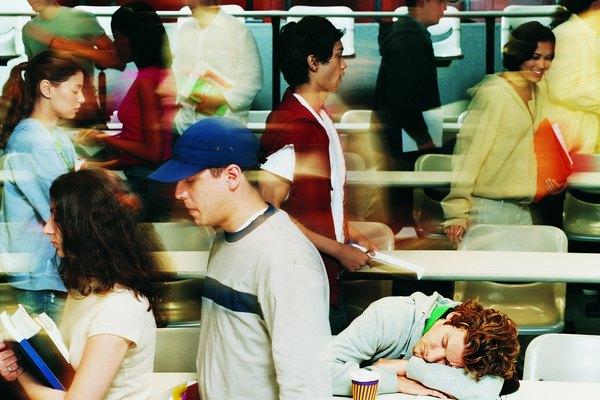 Puede suceder que un alumno se duerma en clase