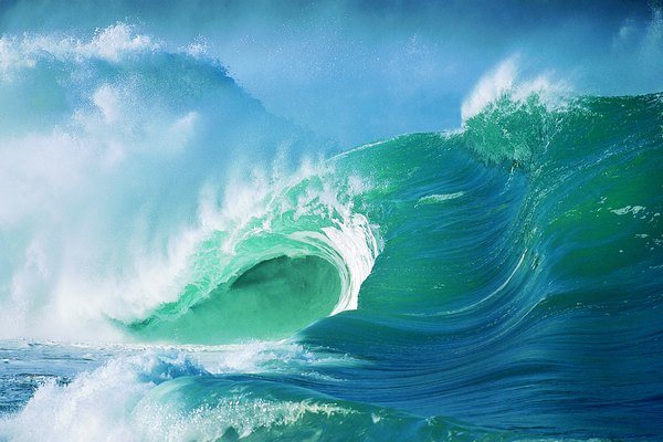 El océano.