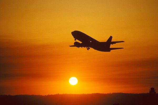 Takeoff at Sunset