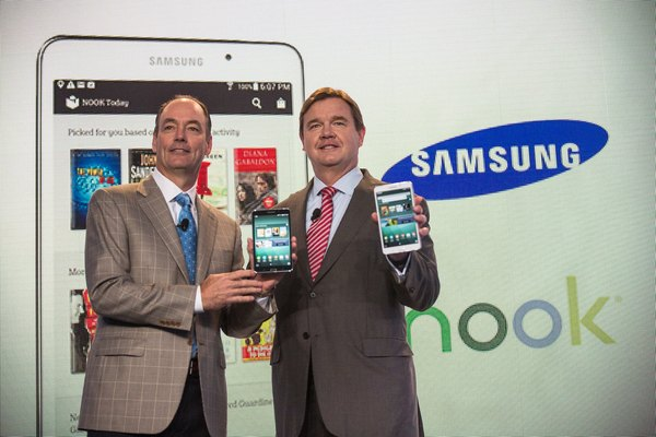 The Galaxy Tab 4 Nook combines Barnes & Noble's library with Android tablet functionality.