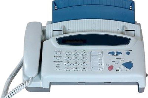 Algunas personas ignoran el encabezado del fax debido a que por lo general es impreso automáticamente en la máquina de fax.