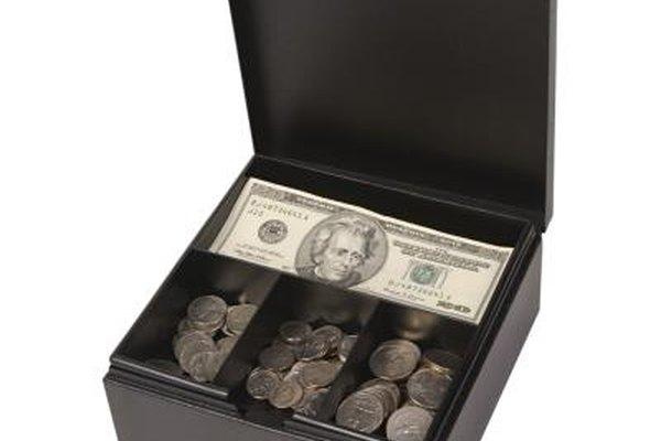 Muchas oficinas usan la caja chica para pagar pequeños gastos.