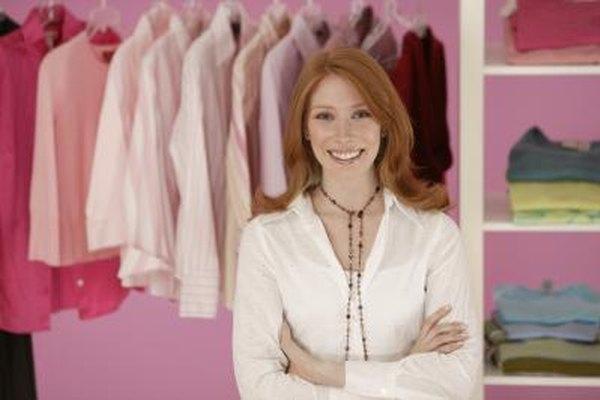 Las tiendas de ropa al por menor necesitan un volumen alto para obtener estrechos márgenes de beneficio.
