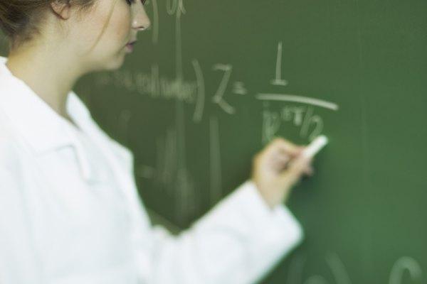 Ecuaciones matemáticas.