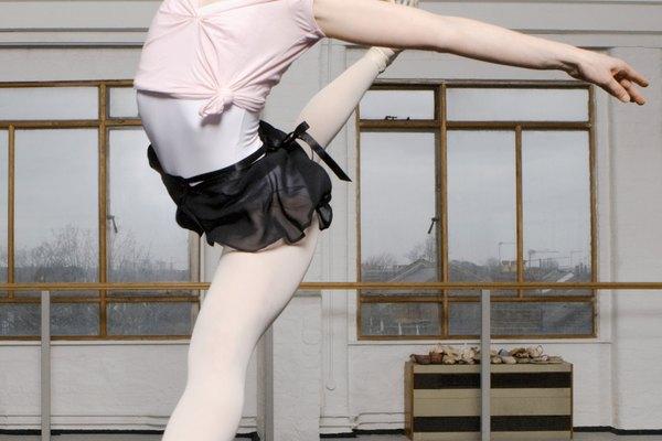 Bailarina realizando un