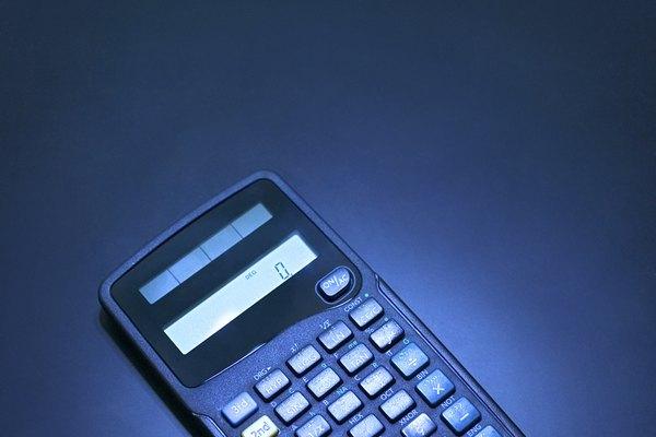 Una calculadora científica.