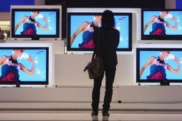 Samsung flat screens support several sizes.