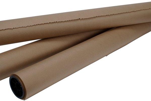 Utiliza papel de estraza para crear lianas sencillas para tu fiesta.