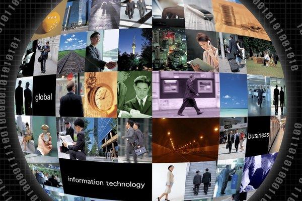 La creación un collage es una manera eficaz para producir una representación visual de un tema.