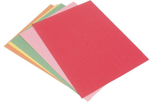 El papel de construcción es un papel pesado para manualidades que puede ser utilizado en una gran variedad de proyectos.