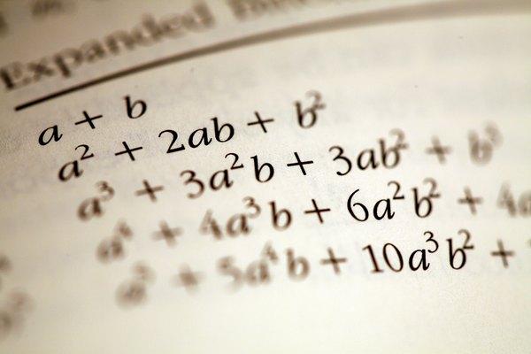 Expresiones matemáticas.