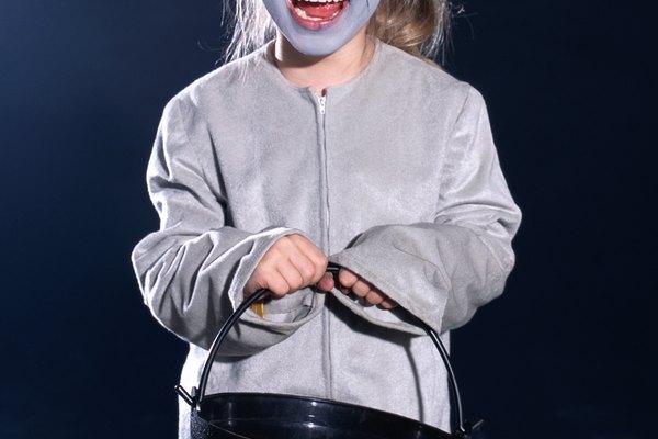 El disfraz de ratón es el más común entre los niños.