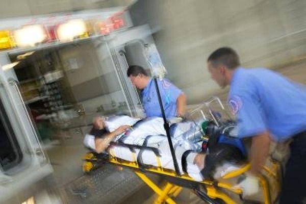 Los paramédicos tienen trabajos interesantes e importantes.