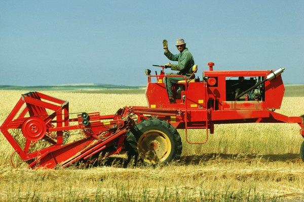 Para qué se utiliza una cosechadora.