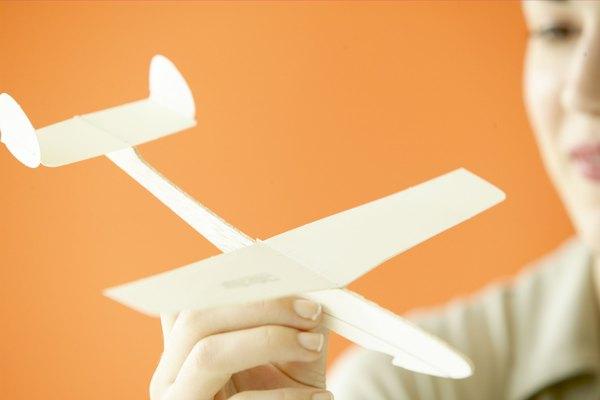 Los modelos representan un objeto más grande, como un avión, auto o barco.
