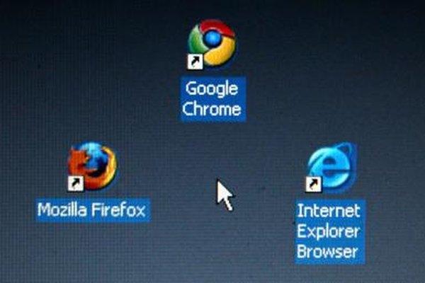 Firefox, Chrome e Internet Explorer son los tres navegadores web más utilizados.