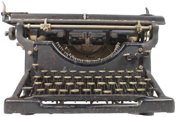 Reconoce una máquina de escribir Royal.