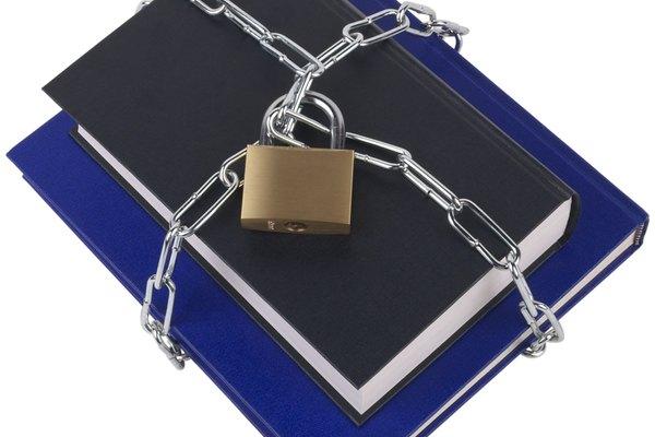 El pegamento adecuado mantendrá tus libros más seguro que una cerradura con cadena.
