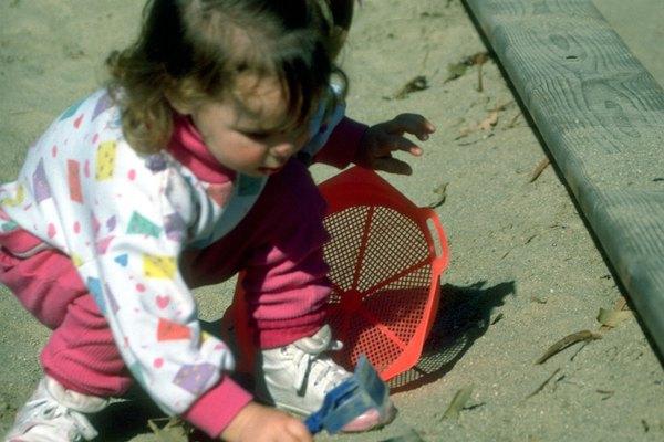 La arena en la caja de arena podría tener riesgos ocultos.