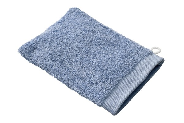 Blue Washcloth