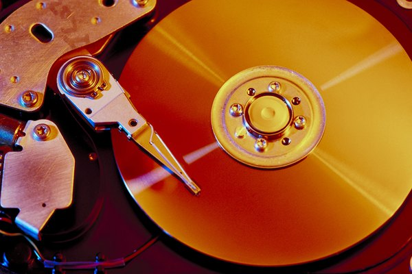 Formatting a hard drive erases all data.