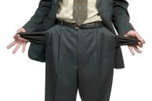 Si una compañía está en peligro de quiebra, las señales pueden alejar a los inversionistas.