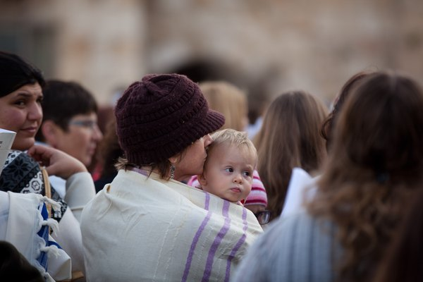 Women of the Wall Pray At The Western Wall
