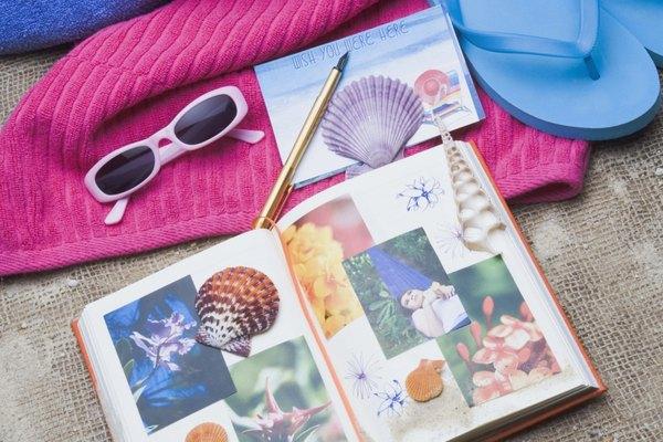El material o accesorios para los libros de recuerdos son divertidos y versátiles.