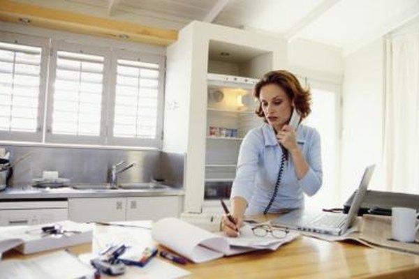 Muchos negocios de bajo presupuesto pueden empezar desde casa.
