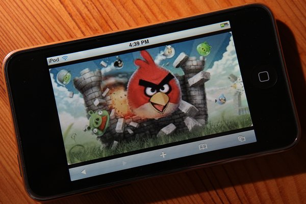 "You can play ""Angry Birds"" on several game consoles and phones."