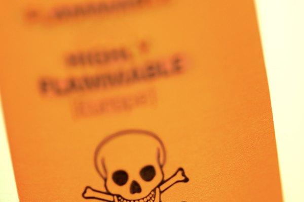 Toxic warning label
